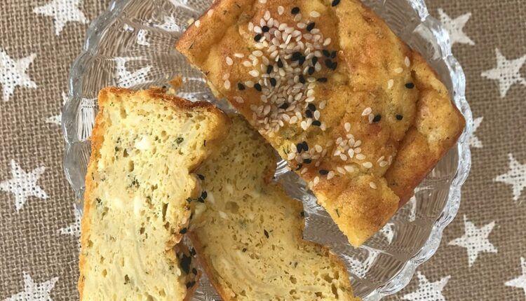 Patates ve peynirli bebek keki